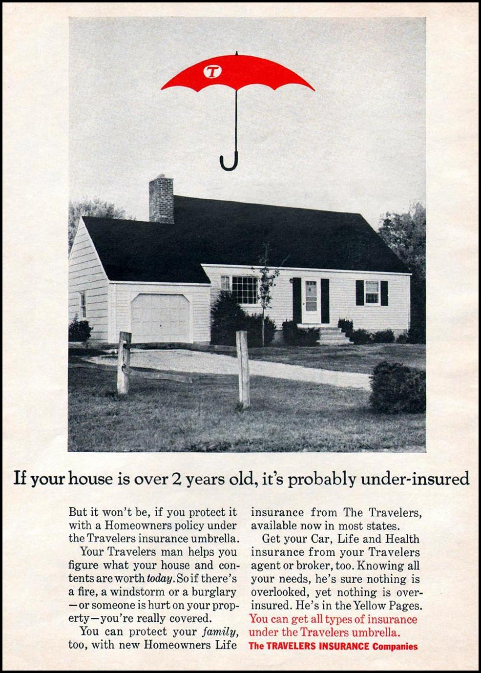 TRAVELERS HOME INSURANCE LIFE 10/12/1964