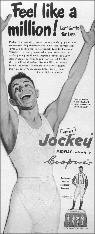 JOCKEY BRAND UNDERWEAR LIFE 06/05/1950 p. 51