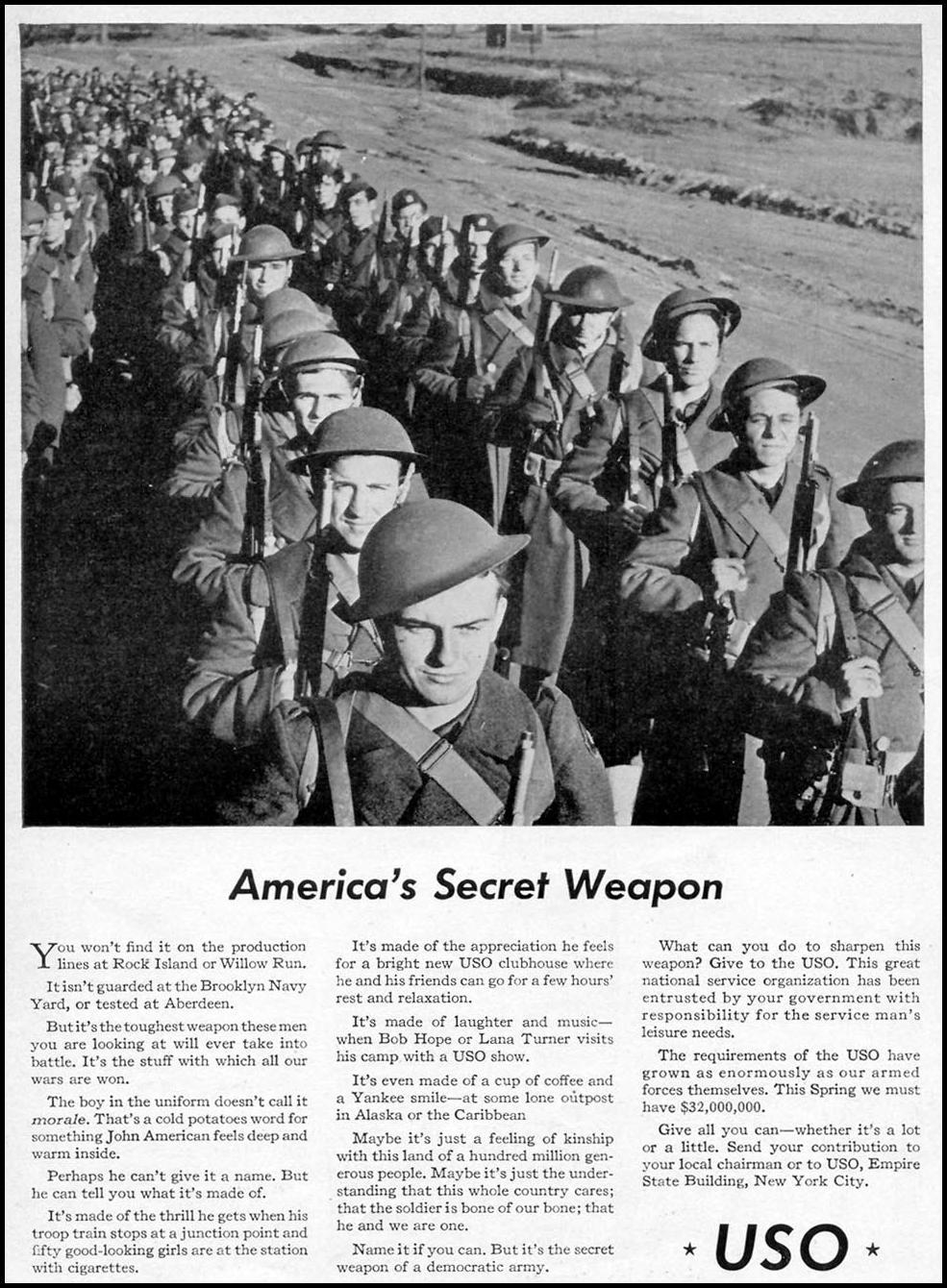 U. S. O TIME 06/15/1942 p. 85