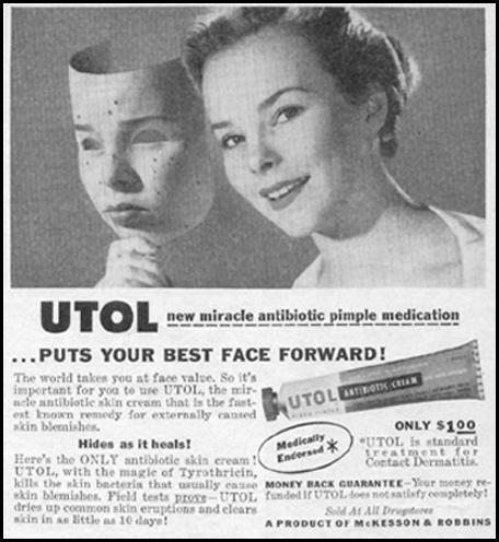 UTOL ANTIBIOTIC CREAM PHOTOPLAY 08/01/1956 p. 97