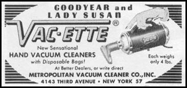 HAND VACUUM CLEANERS LIFE 02/09/1959 p. 68