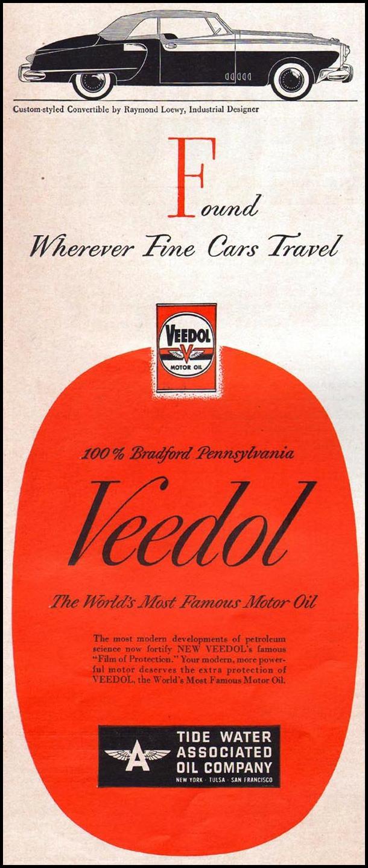 VEEDOL MOTOR OIL LIFE 04/17/1950 p. 6