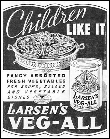LARSEN'S VEG-ALL GOOD HOUSEKEEPING 12/01/1934 p. 220