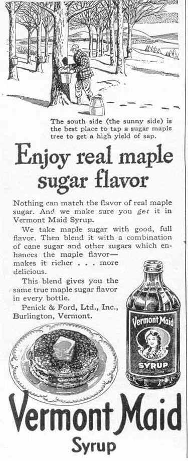 VERMONT MAID SYRUP LIFE 02/14/1944 p. 100
