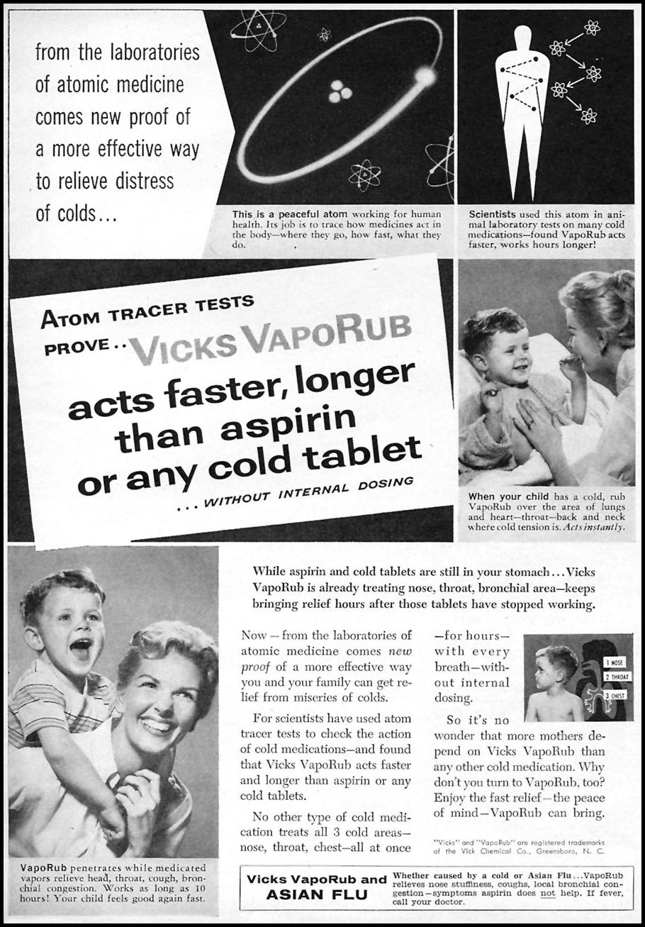 VICKS VAPORUB FAMILY CIRCLE 02/01/1958 p. 3