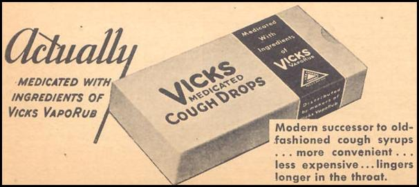 VICKS MEDICATED COUGH DROPS LIBERTY 02/15/1936 p. 28