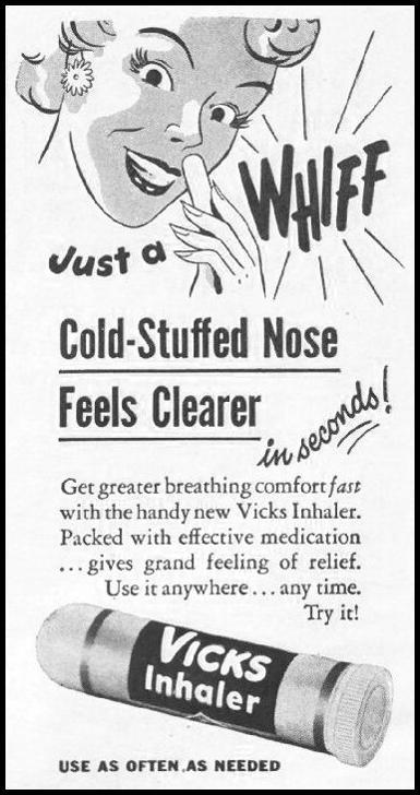 VICKS INHALER LIFE 11/25/1946 p. 18