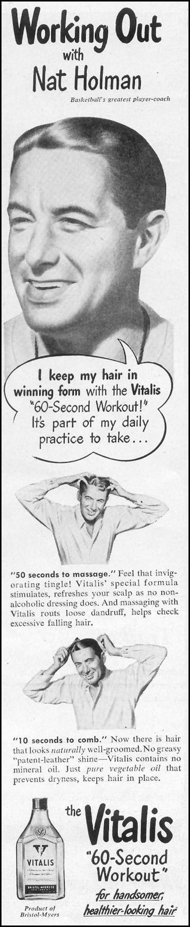 VITALIS HAIR TONIC LIFE 10/11/1948 p. 98