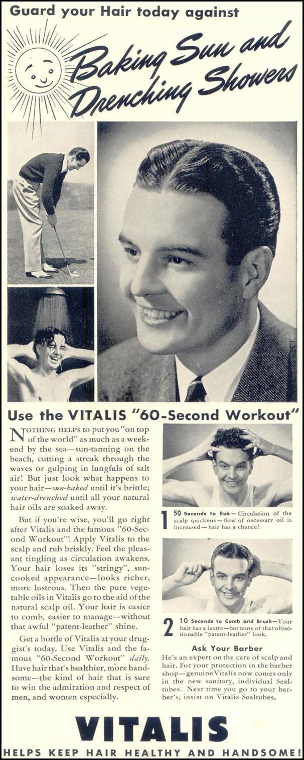 VITALIS HAIR TONIC LIFE 07/24/1939 p. 3
