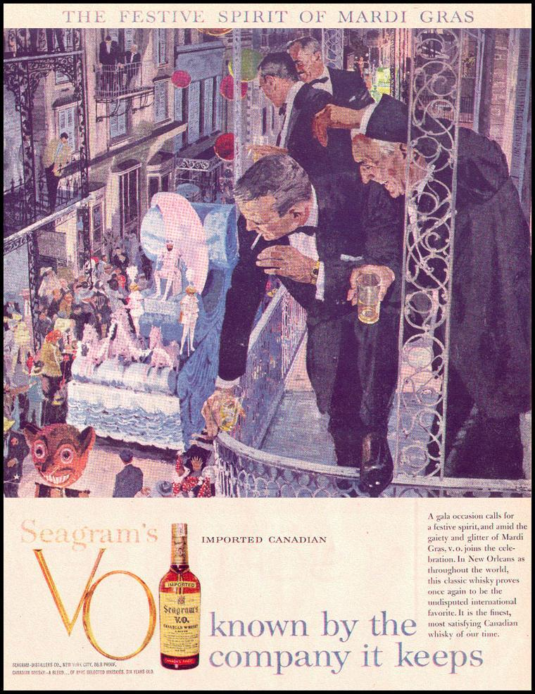 SEAGRAM'S V. O. WHISKEY LIFE 02/02/1959