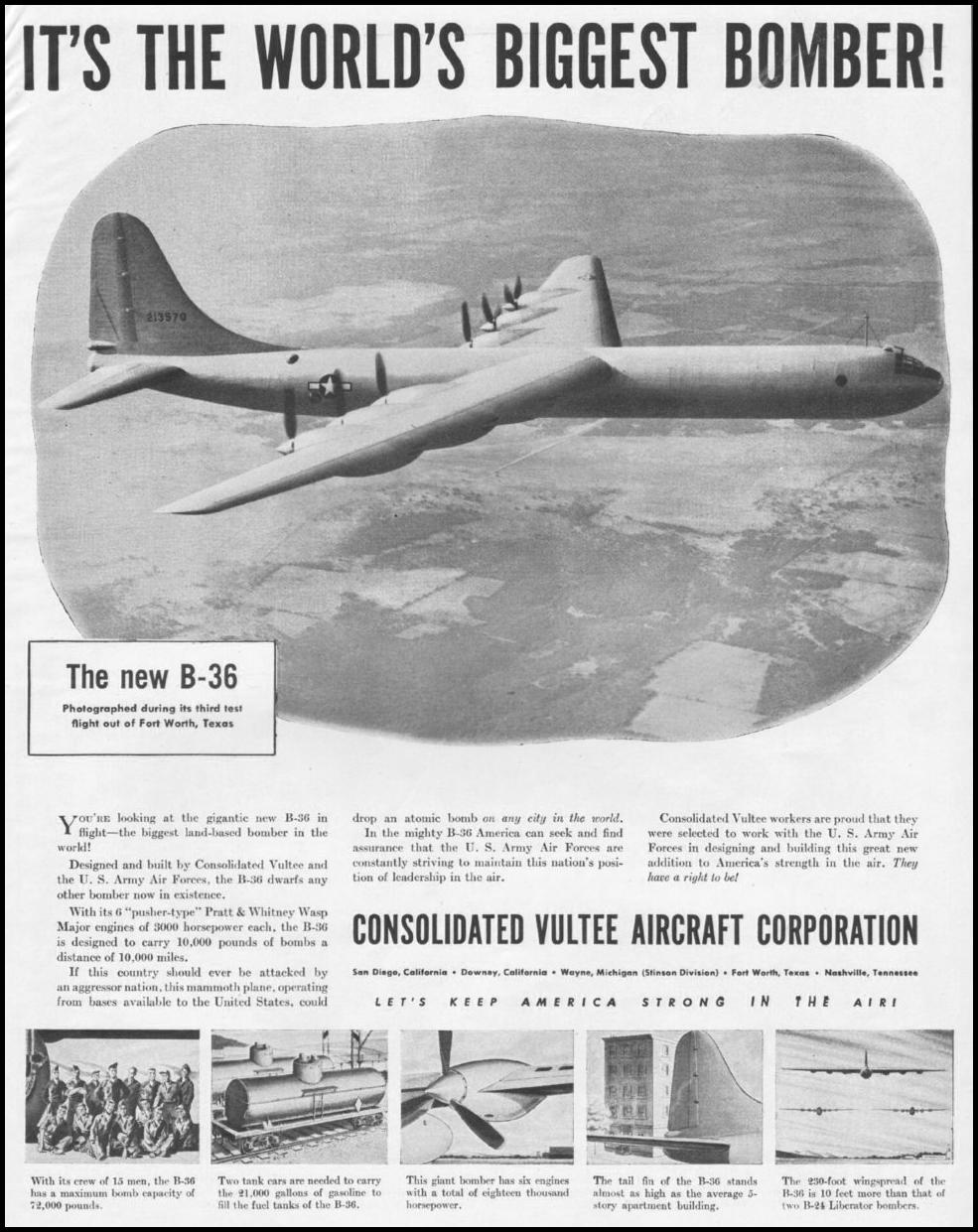 CONSOLIDATED VULTEE AIRCRAFT LIFE 11/25/1946 p. 81