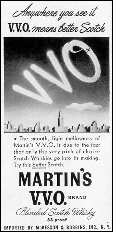 MARTIN'S V. V. O. SCOTCH LIFE 11/08/1943 p. 122