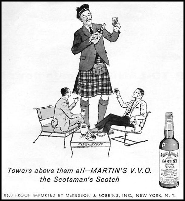 MARTIN'S V. V. O. SCOTCH