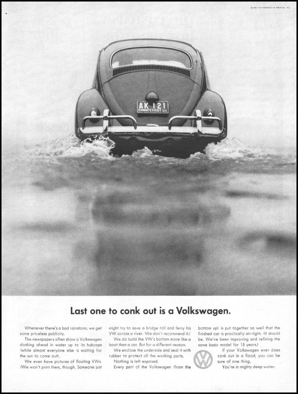 VOLKSWAGEN AUTOMOBILES LIFE 05/05/1961 p. 89
