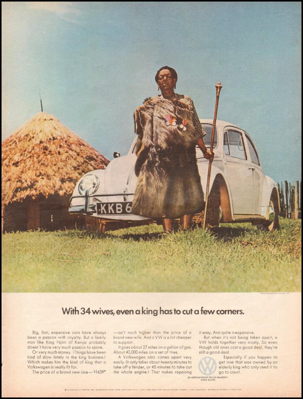 VOLKSWAGEN AUTOMOBILES LIFE 11/04/1966 p. 75