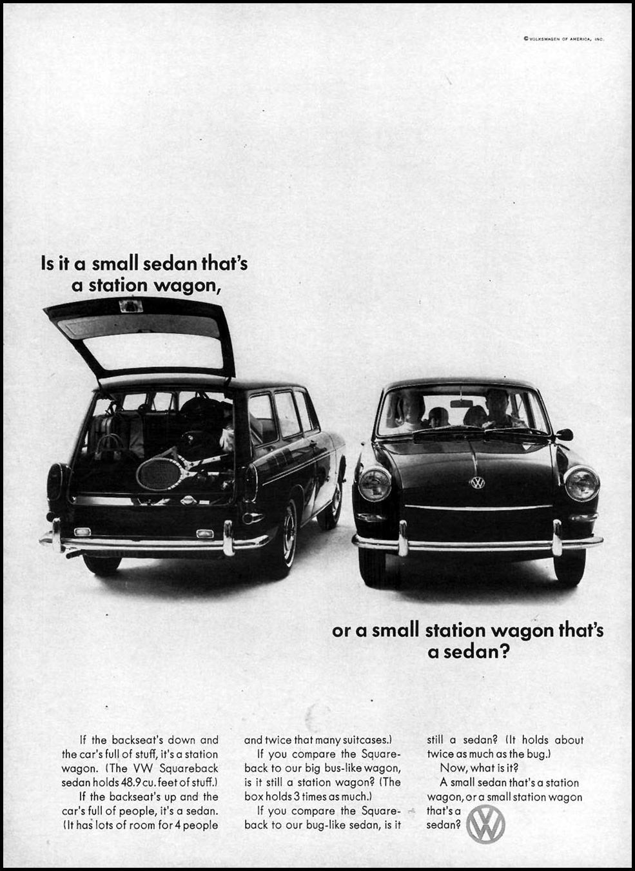 VOLKSWAGEN AUTOMOBILES TIME 04/21/1967 p. 14