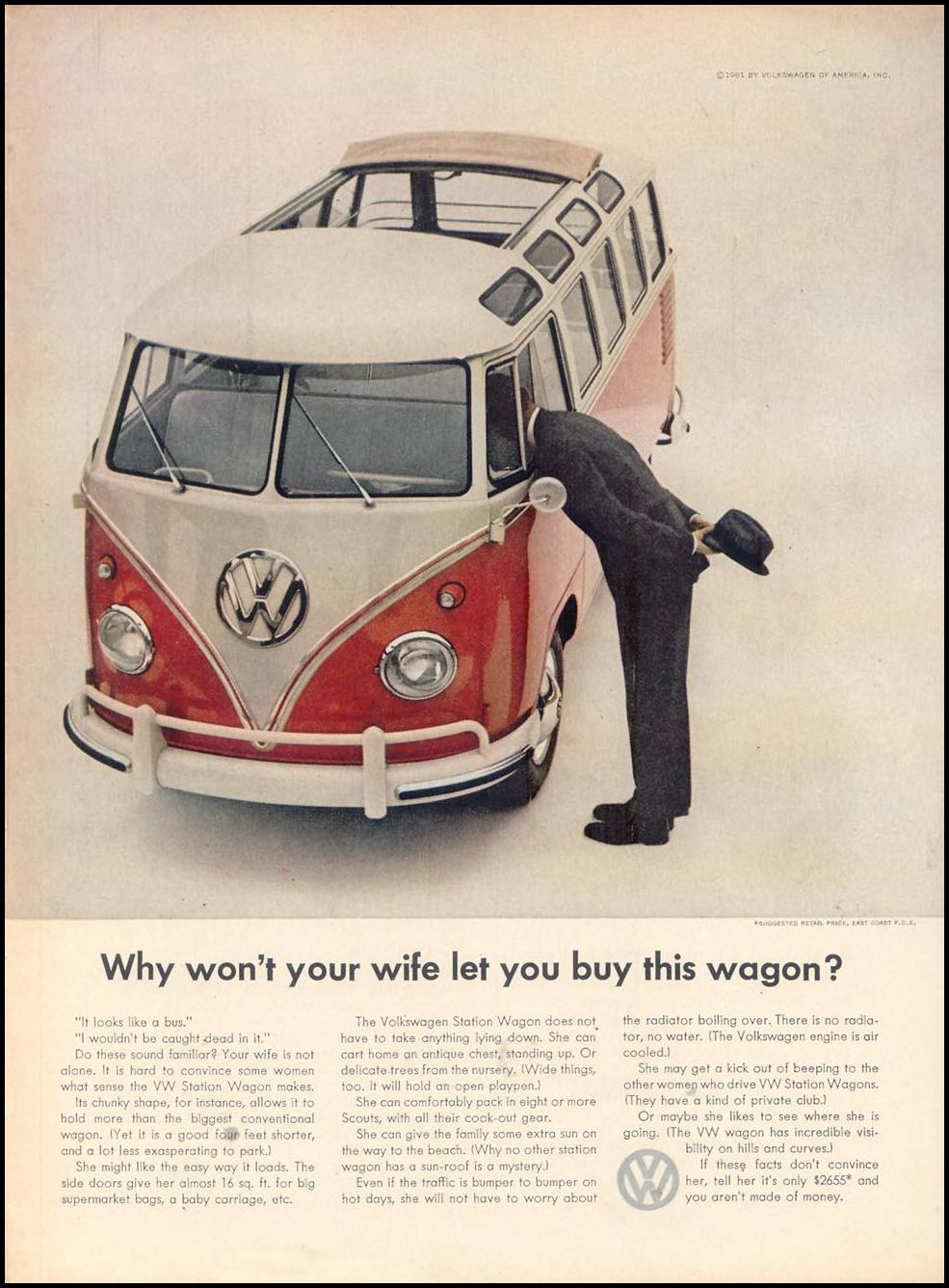 VOLKSWAGEN AUTOMOBILES TIME 07/13/1962 p. 53