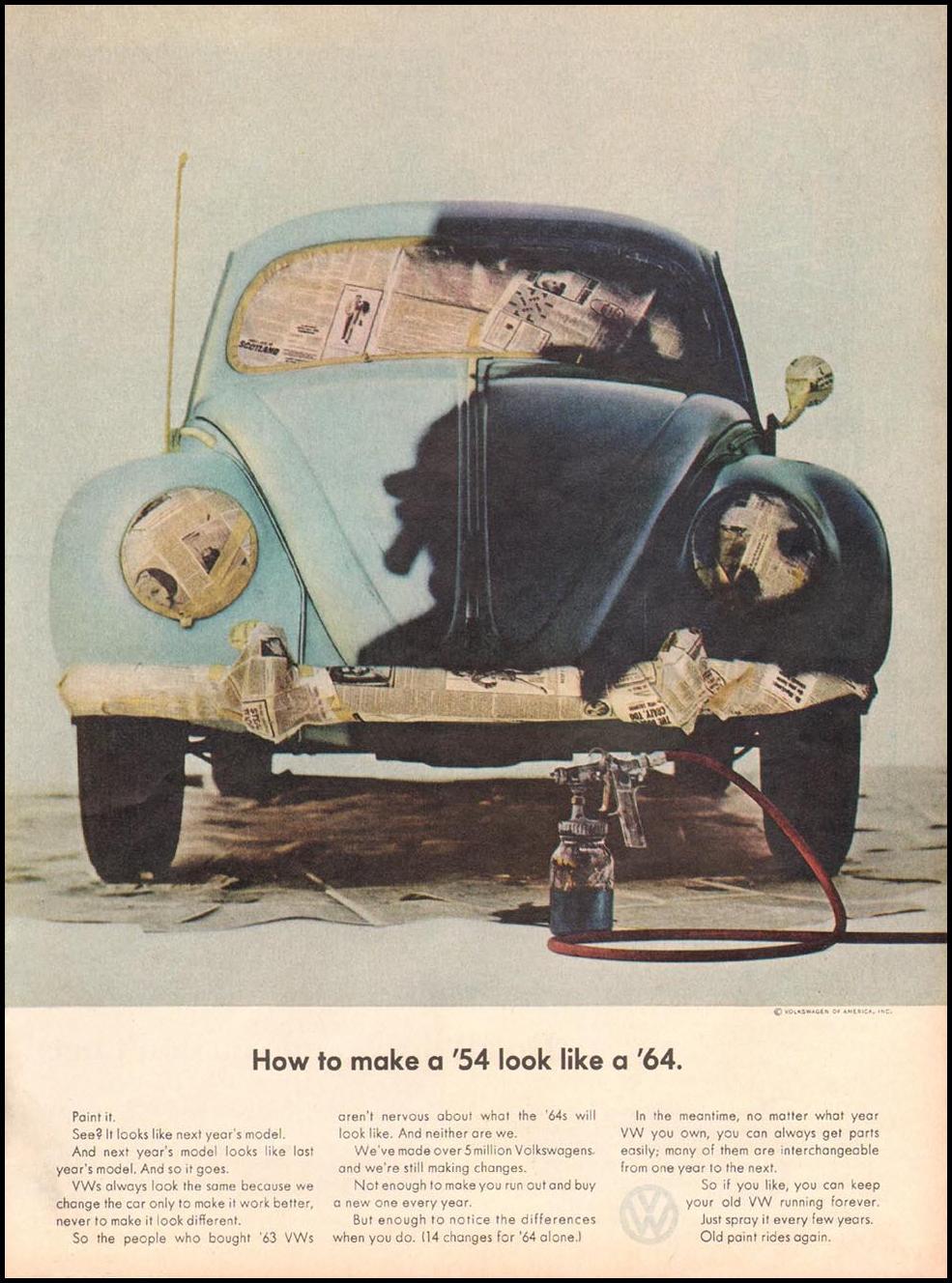 VOLKSWAGEN AUTOMOBILES TIME 10/04/1963 p. 59