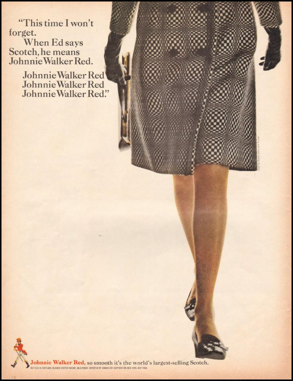 JOHNNIE WALKER SCOTCH WHISKEY LIFE 11/04/1966
