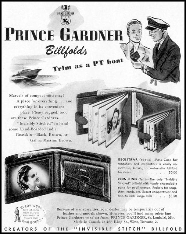 PRINCE GARDNER BILLFOLDS LIFE 11/08/1943 p. 114