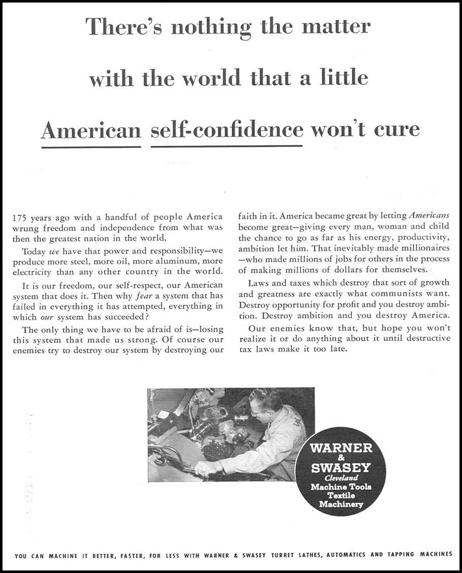 AMERICAN FREEDOM NEWSWEEK 08/20/1951 p. 17