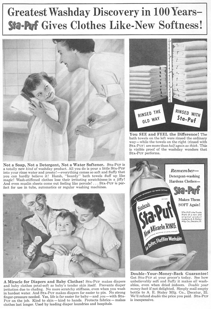 STA-PUF FABRIC SOFTENER