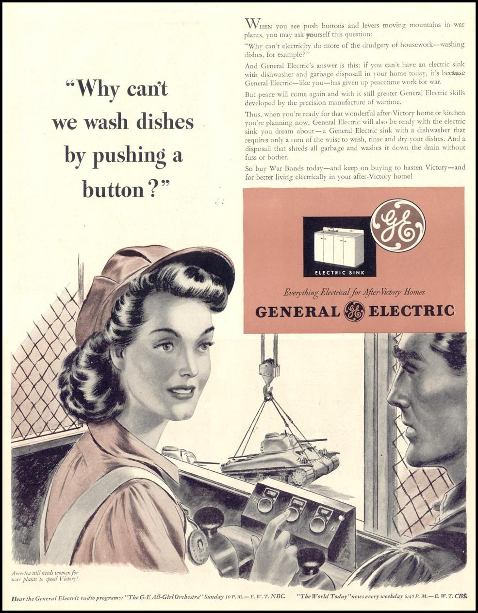 GENERAL ELECTRIC WAR PRODUCTION LIFE 11/08/1943 p. 49