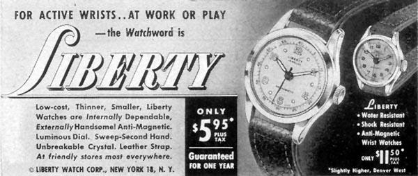 LIBERTY WATCHES LIFE 07/30/1951 p. 80