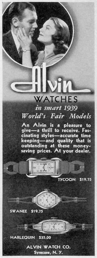 ALVIN 1939 WORLD'S FAIR MODELS LIFE 12/12/1938 p. 64