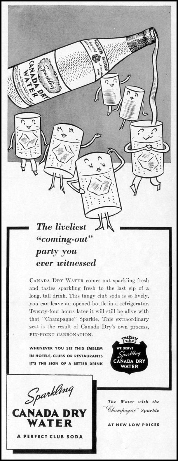 CANADA DRY WATER LIFE 07/18/1938 p. 37