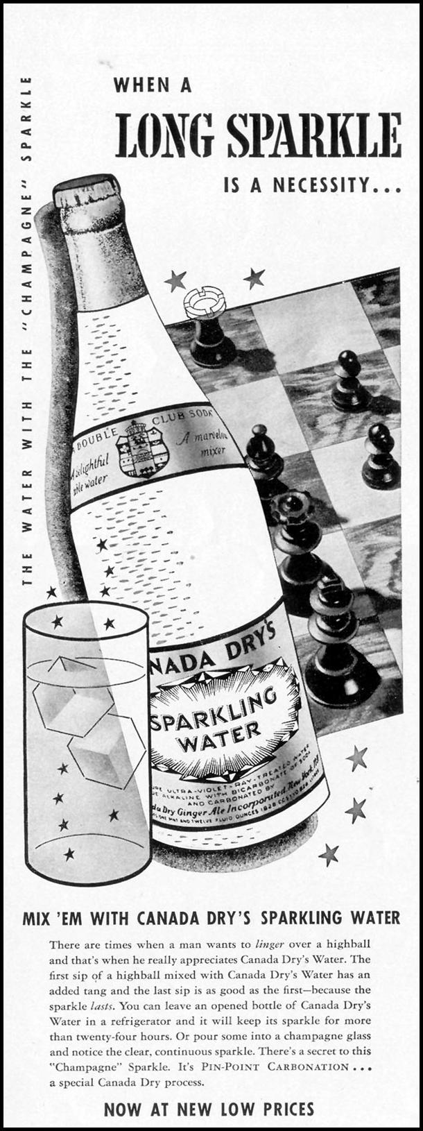 CANADA DRY SPARKLING WATER LIFE 08/02/1937 p. 66