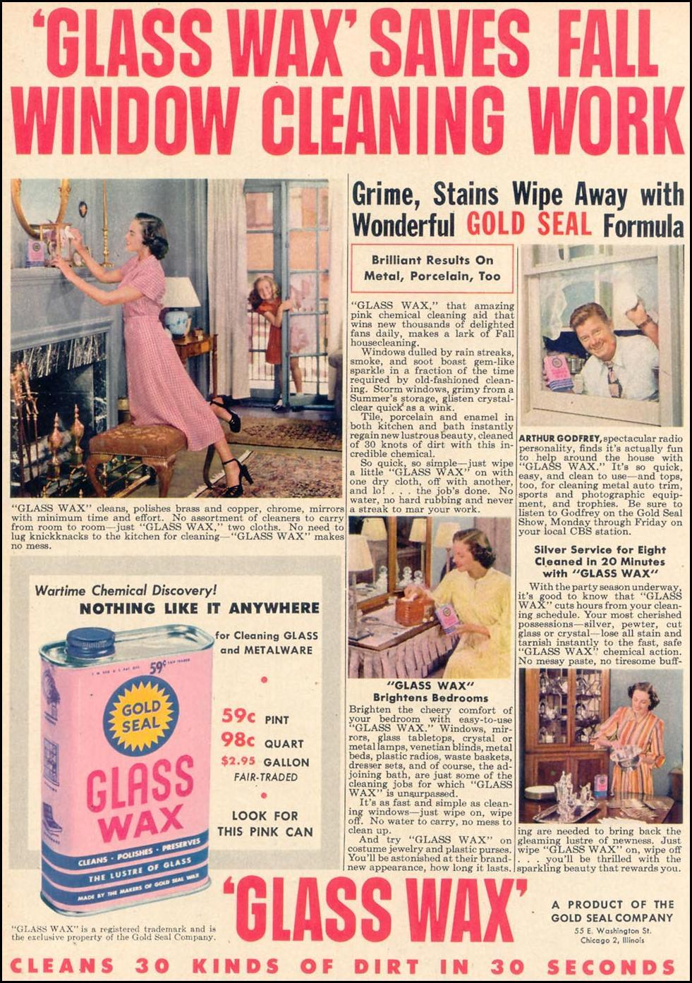 GOLD SEAL GLASS WAX