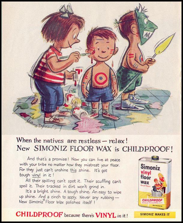 SIMONIZ FLOOR WAX LIFE 02/02/1959 p. 60