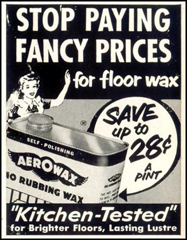 AEROWAX FLOOR WAX