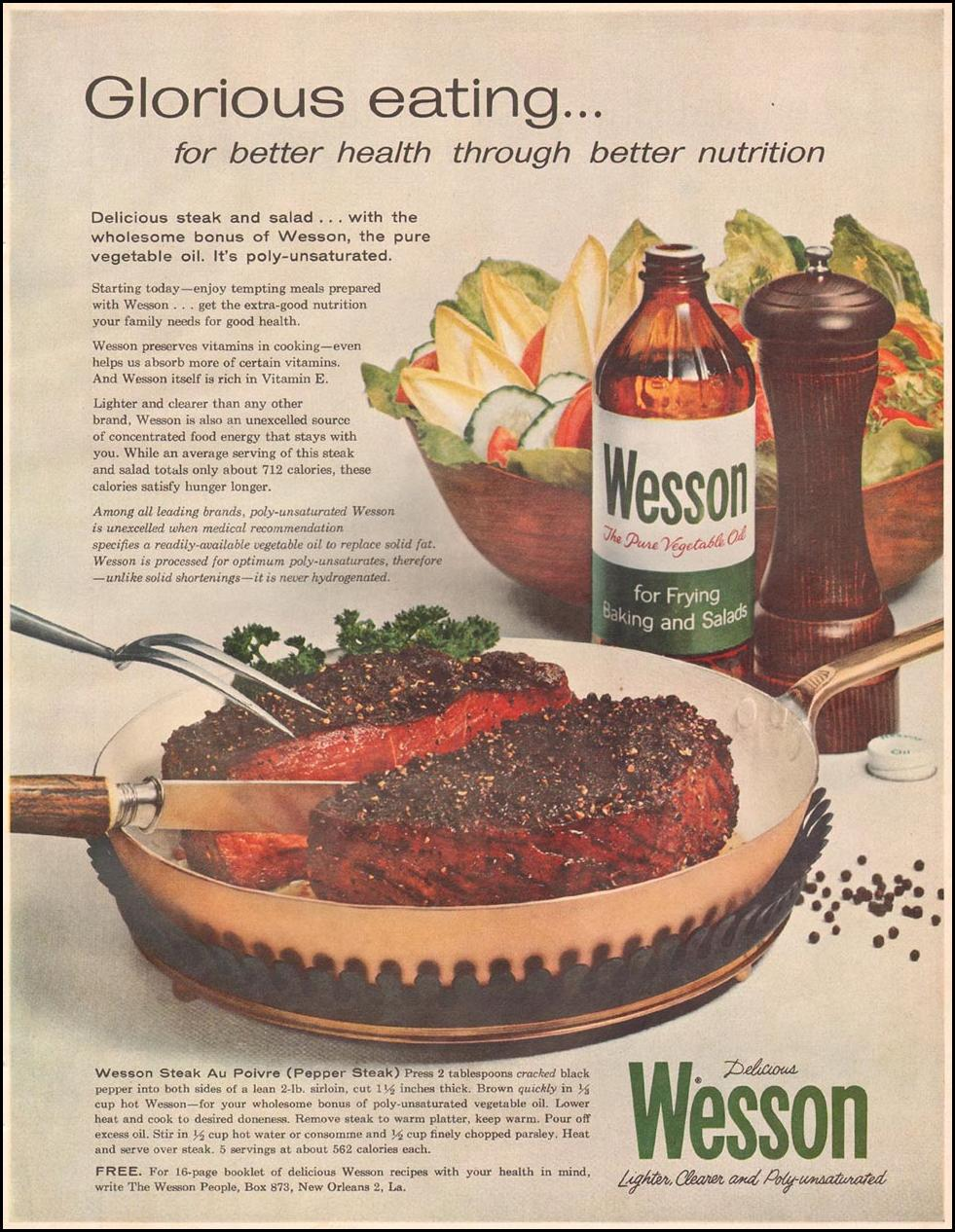 WESSON OIL BETTER HOMES AND GARDENS 03/01/1960
