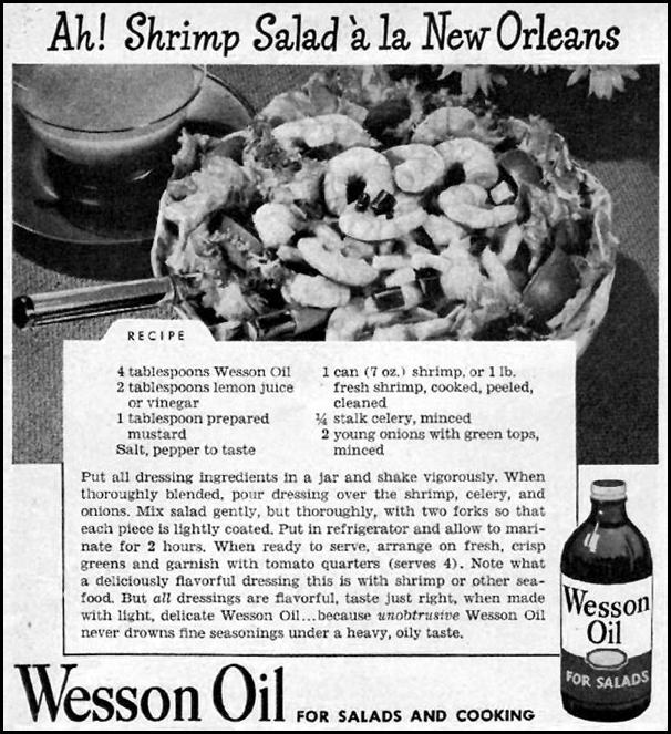 WESSON OIL WOMAN'S DAY 06/01/1947 p. 84