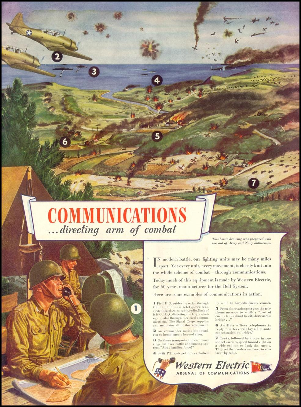WESTERN ELECTRIC WARTIME PRODUCTION LIFE 11/30/1942