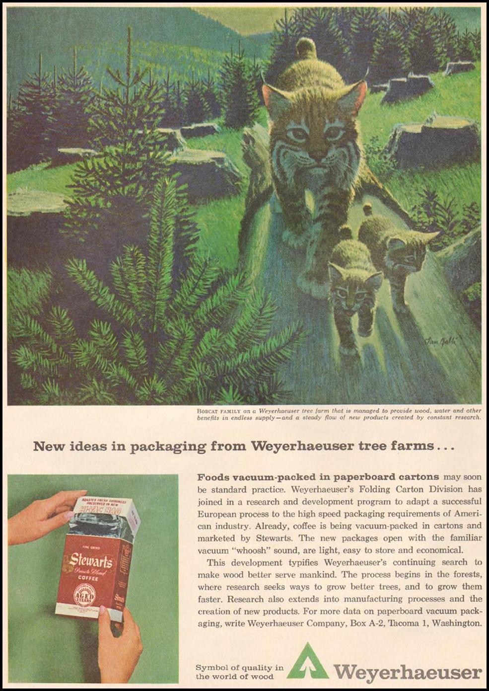 WEYERHAUSER PAPERBOARD CARTONS TIME 05/24/1963 p. 56