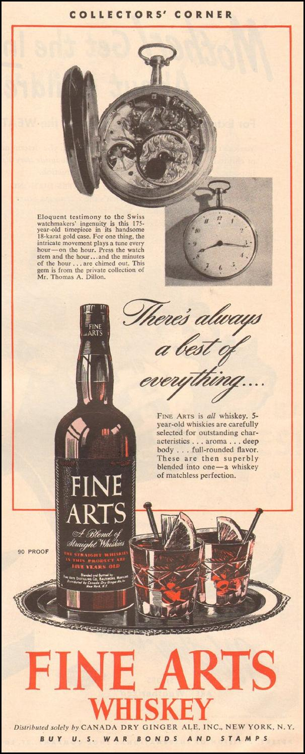 FINE ARTS WHISKEY LIFE 03/12/1945 p. 53