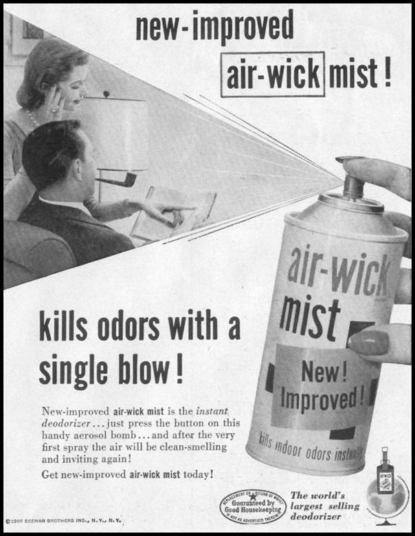 AIR-WICK DEODORIZER LIFE 11/14/1955 p. 169