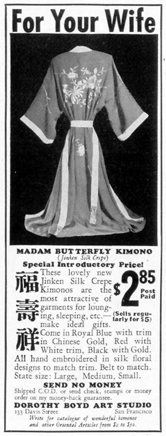 MADAM BUTTERFLY KIMONO LIFE 10/04/1937 p. 112