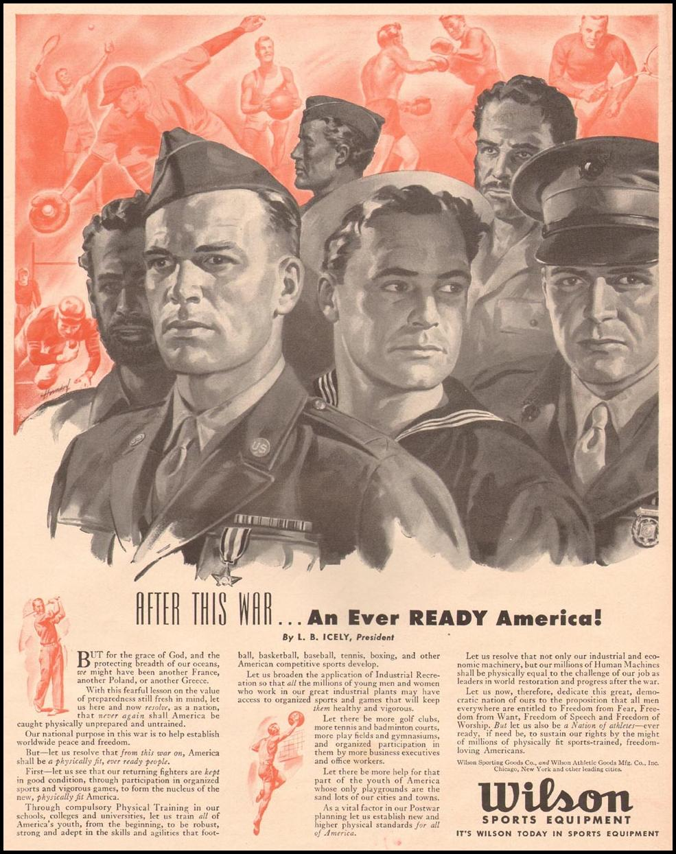 POST-WAR AMERICA LIFE 10/11/1943 p. 73