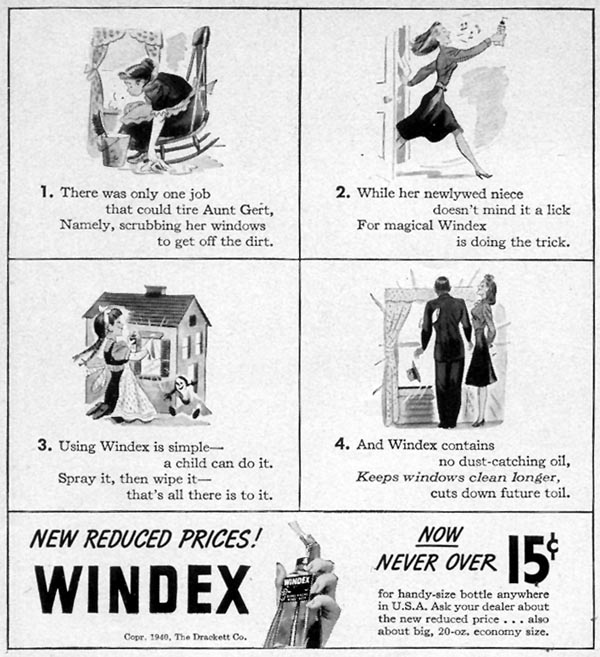 WINDEX WOMAN'S DAY 12/01/1940 p. 54
