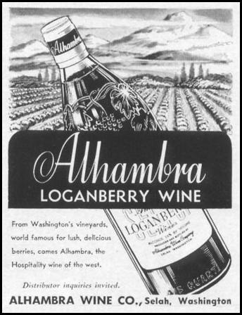 LOGANBERRY WINE LIFE 10/13/1952 p. 98