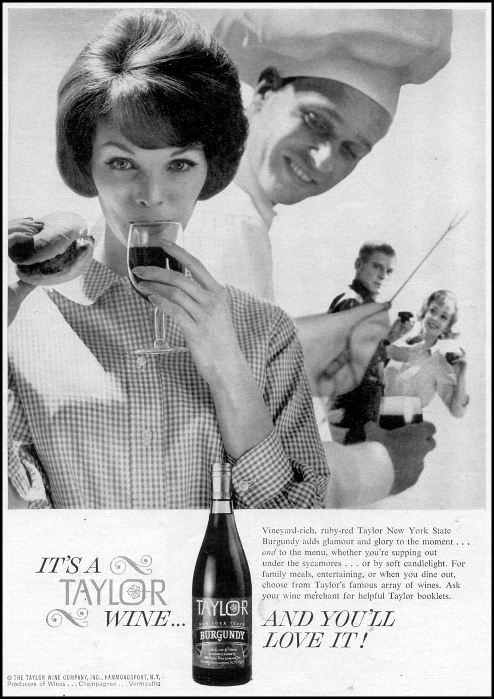 TAYLOR WINES TIME 07/13/1962 p. 57