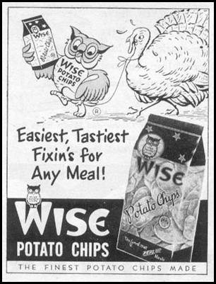 WISE POTATO CHIPS LIFE 11/14/1955 p. 182