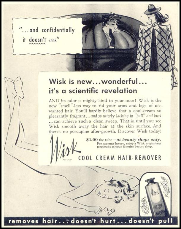 WISK COOL CREAM HAIR REMOVER LIFE 07/24/1939 p. 75