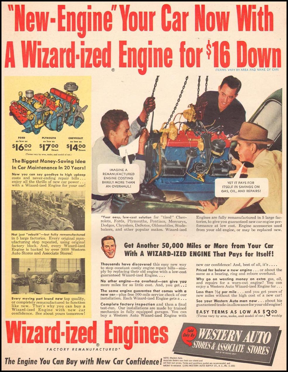 WIZARD-IZED ENGINES LIFE 10/01/1951