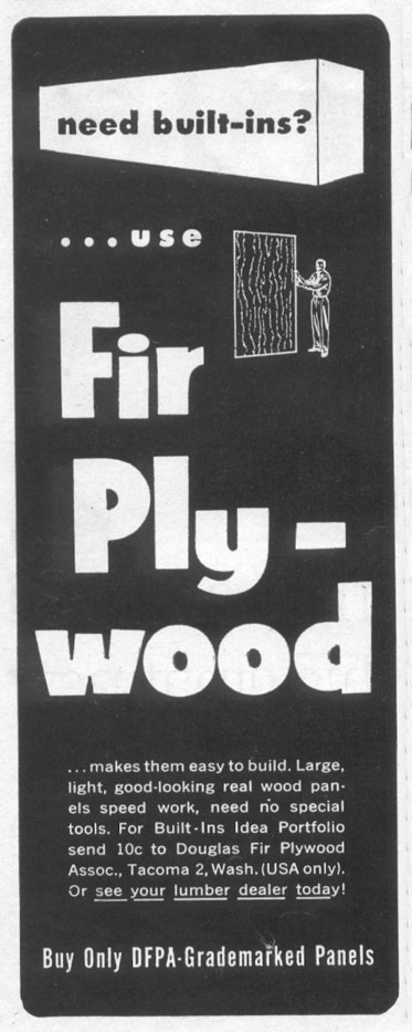 DOUGLAS FIR PLYWOOD LIFE 07/12/1954 p. 108