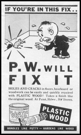 PLASTIC WOOD LIFE 11/02/1942 p. 119